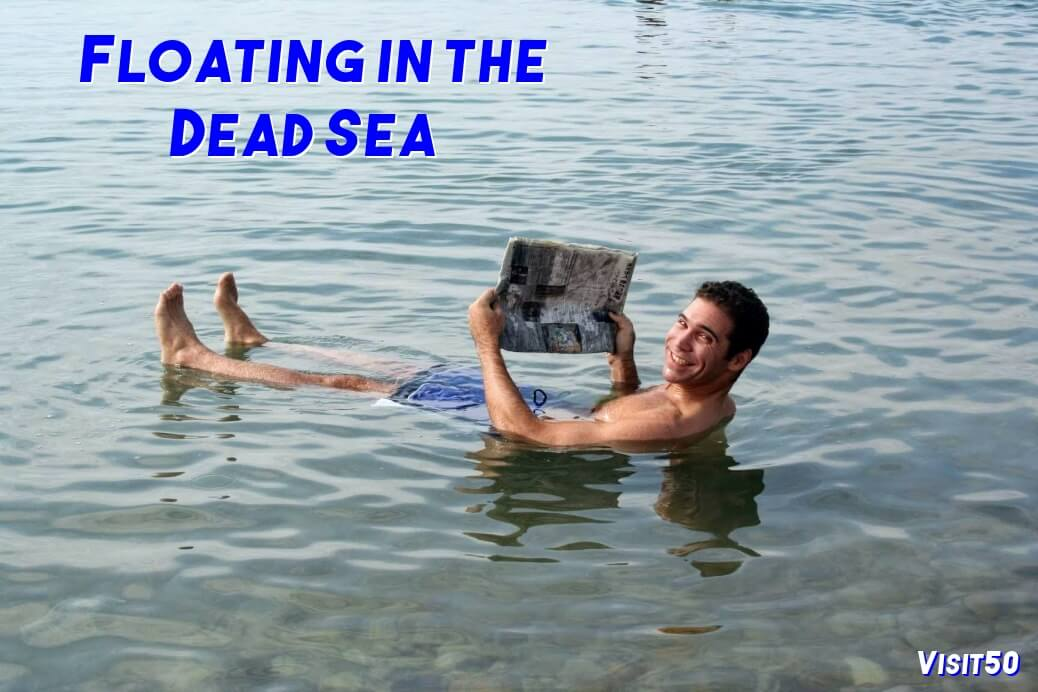 Júnior controlador frotis  Floating in the Dead Sea in Jordan | Visit50 Travel the World