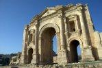 architecture in Jerash, ancient Gerasa