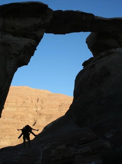 Wadi Rum silhouette photo