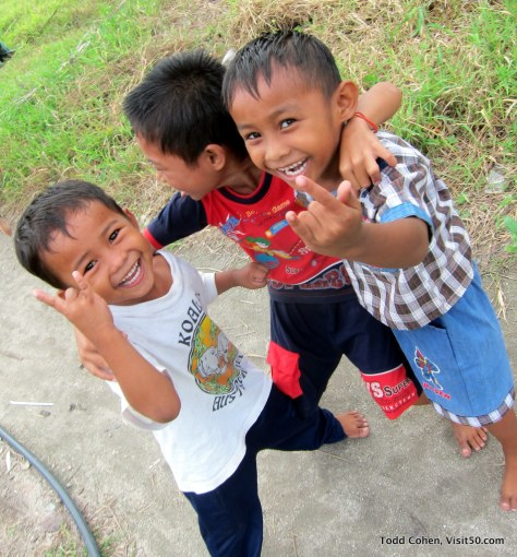 helping these kids smile is why I love to travel