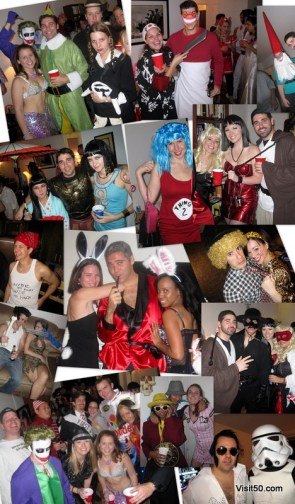 Halloween around the world! This was from my parties in New York