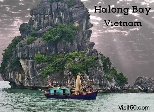 Halong Bay Vietnam travel adventure blog