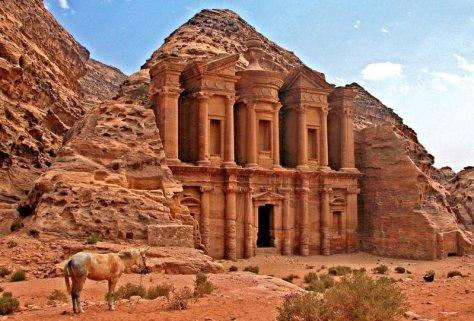 Monastary in Petra