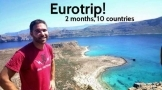 Europe solo trip - Visit 50 backpacking trip