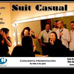 Concierto de Suit Casual en la Casa de la Cultura de Coín