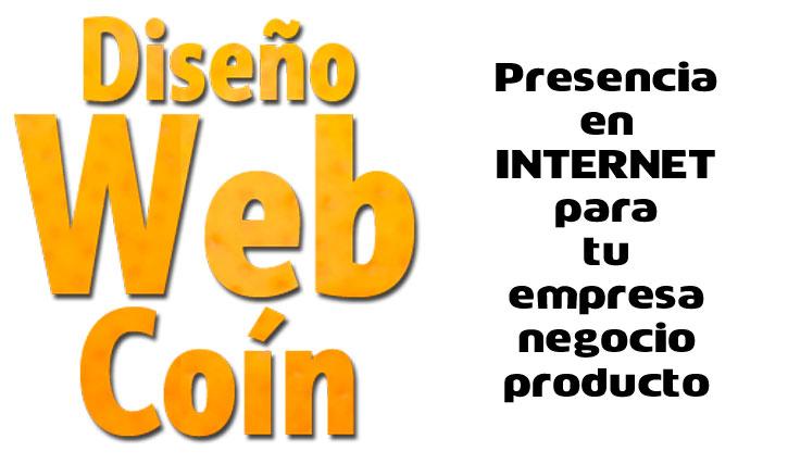 Diseño Web Coín