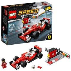 LEGO Speed Champions – Coche SF16-H de la Escudería Ferrari 75879