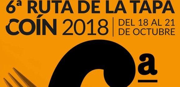 Ruta de la tapa 2018 en Coín
