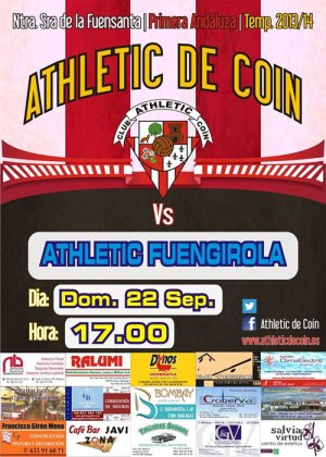 Primer partido del Athletic de Coin