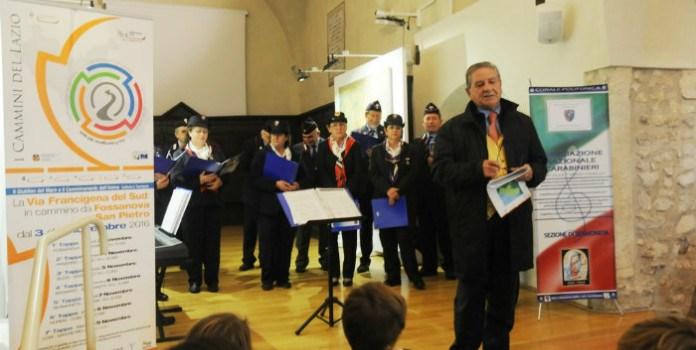 A Sermoneta ospitati 40 pellegrini per valorizzare i cammini del Lazio