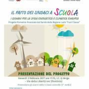 """""""Il Patto dei Sindaci a scuola: i giovani per la sfida energetica e climatica europea"""""""