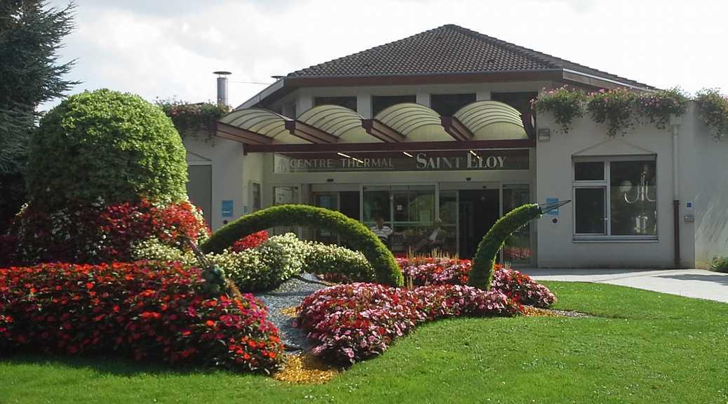 Le Centre thermal d'Amnéville, ici l'entrée de la cure St Eloy