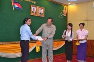 Banteay Chhmar CBT tour guide, Khouen Sreymom