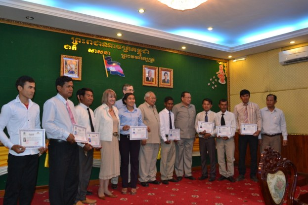 Congratulations to the Banteay Chhmar CBT tour guides!