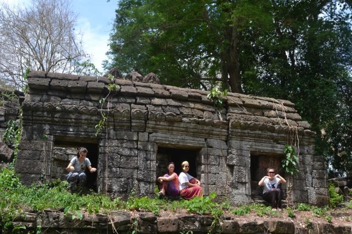Temple fun