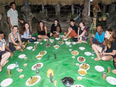Farewell dinner party