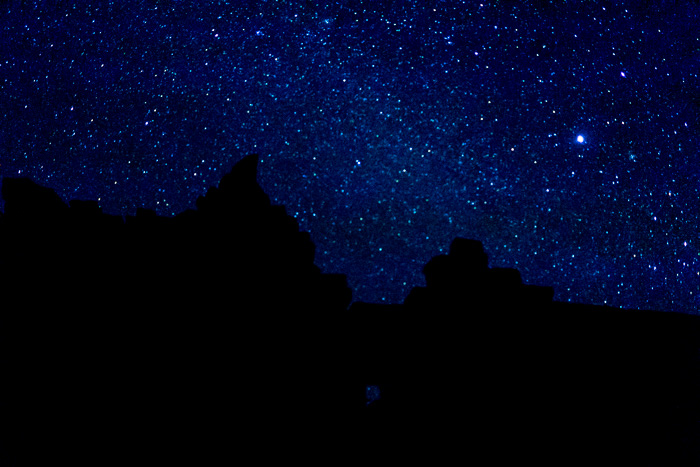 Stars over Banteay Chhmar Temple