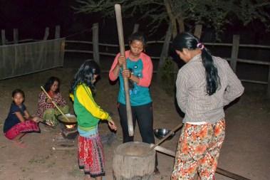 Traditionally, women prepare the dalambok