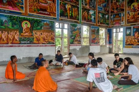Visit the pagoda