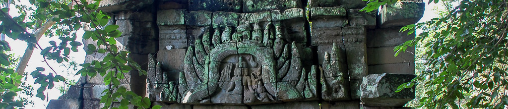 Banteay Chhmar Temple lintel