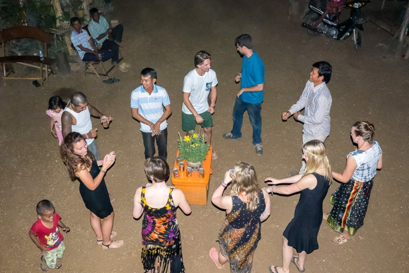 Khmer dancing in Banteay Chhmar