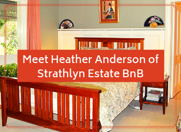 Meet Heather Anderson of Strathlyn Estate Bed And Breakfast Blog Image