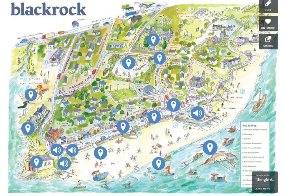 Blackrock Map