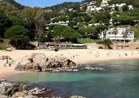 Cala Bona beach in Blanes