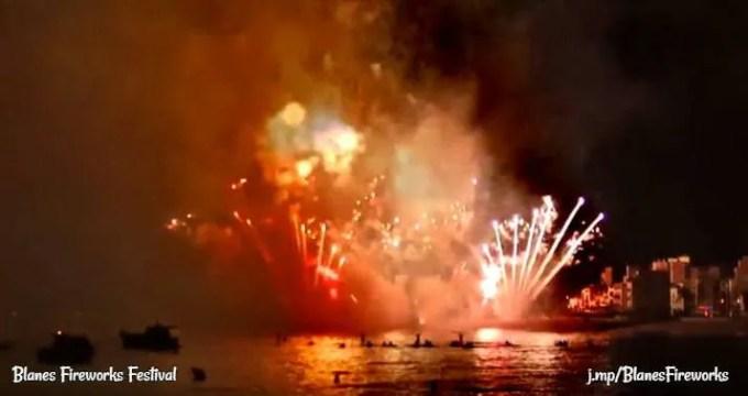Fireworks Blanes