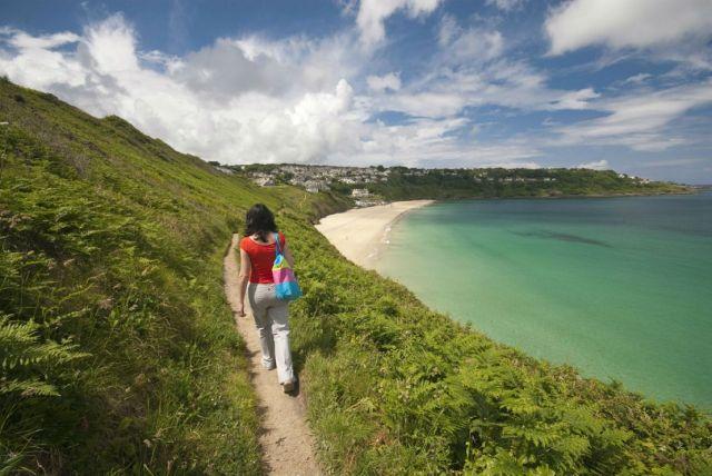 Wandelen op het South West Coast Path in Engeland