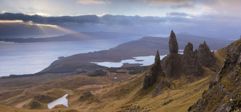 The Storr is a rocky outcrop on the Trotternish peninsula of the Isle of Skye.