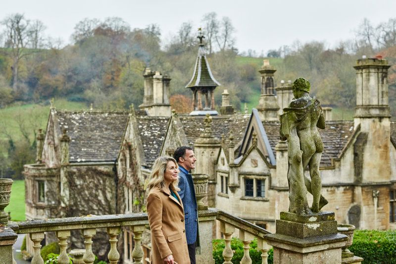 Couple in the Cotswolds