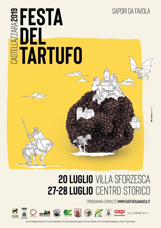 festa del tartufo-castellazzara-20-27-28-luglio2019