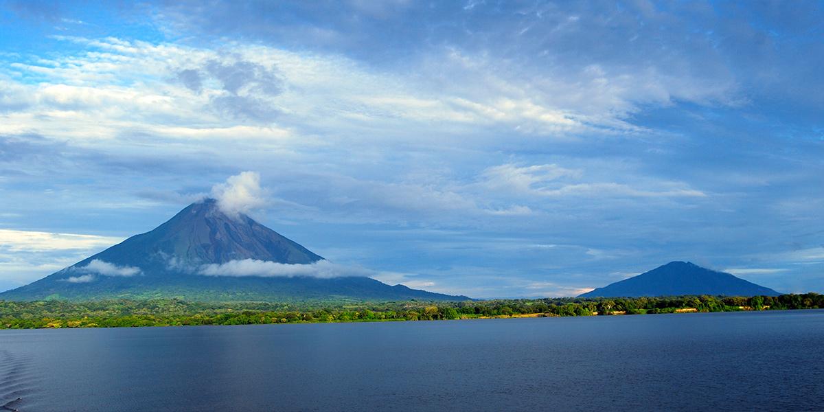 Lake Volcanoes Nicaragua
