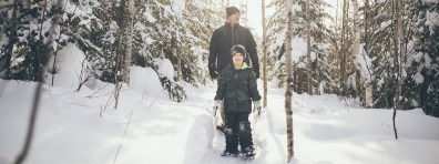 Gunflint Lodge Snow shoeing