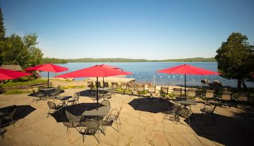 Justine's Patio Dining at Gunflint Lodge