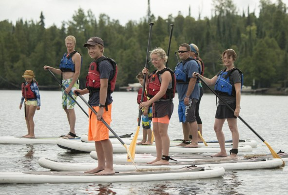 Lutsen Resort SUP Summer Activity