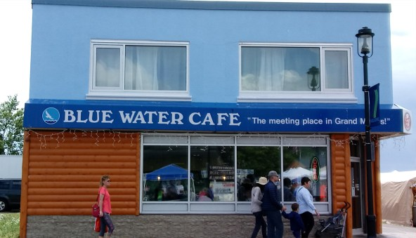 Blue Water Cafe restaurant building
