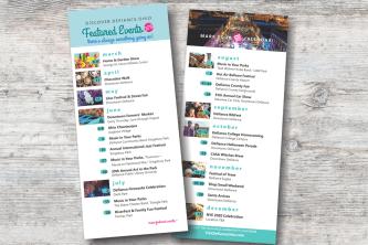 event listing