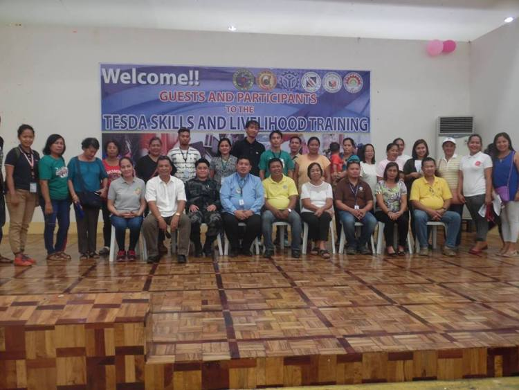 TESDA 2017 Trainings of LGU Del Carmen
