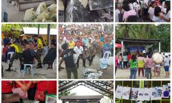 LGU Del Carmen and GO SHARE Community conducted bayanihan