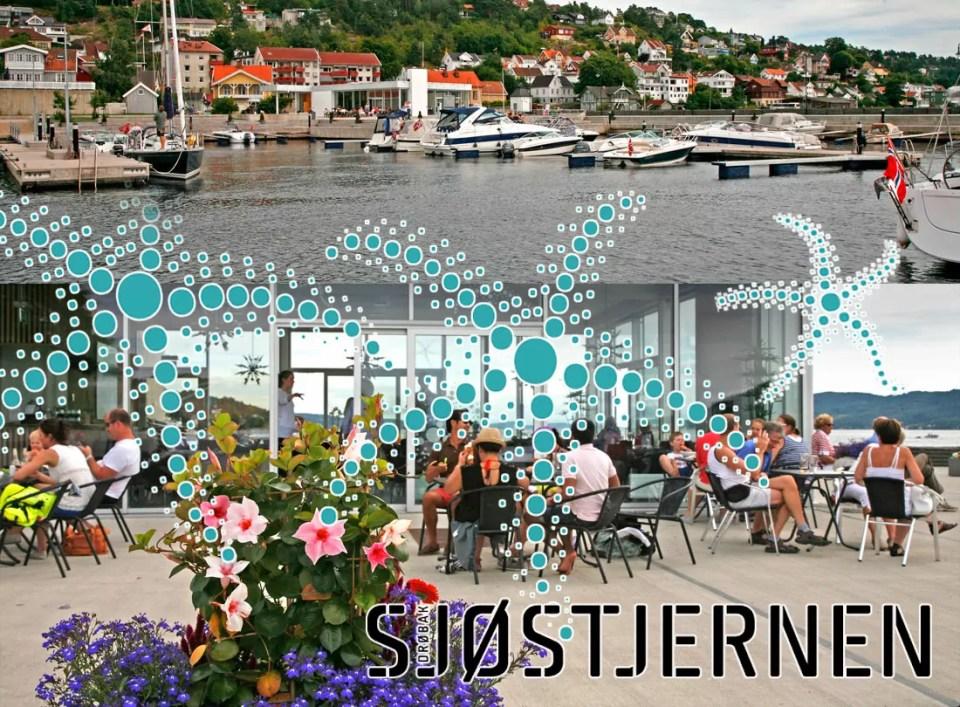 Gjestehavna i Drøbak Syd.
