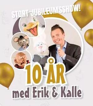 10 år med Erik & Kalle @ Smia Flerbrukshus
