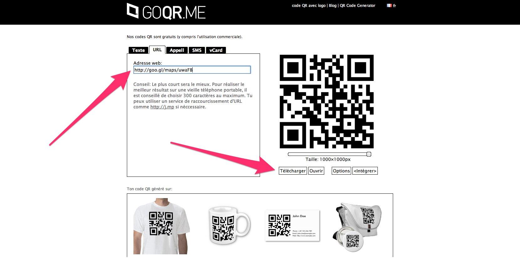 Copiez Ladresse Courte De Votre Visite Virtuelle Et Allez Sur Goqrme Gnrateur QR Code Gratuit Y Compris Lutilisation Commerciale