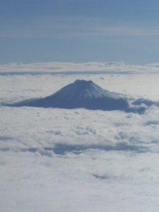 Aerial view of the Cotopaxi, © Carmen Cristina Carpio Tobar