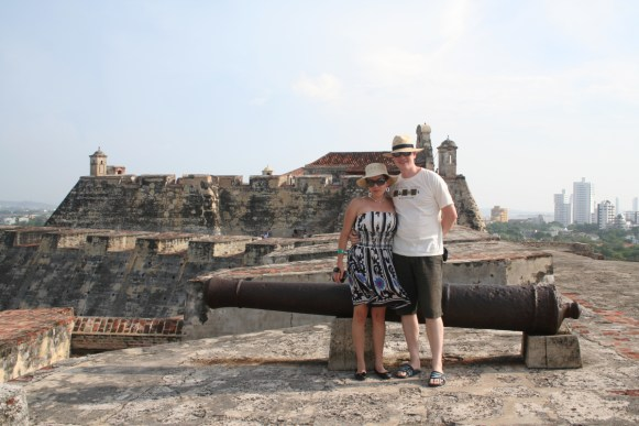 From the old fortress. Cartagena, Colombia © Carmen Cristina Carpio Tobar