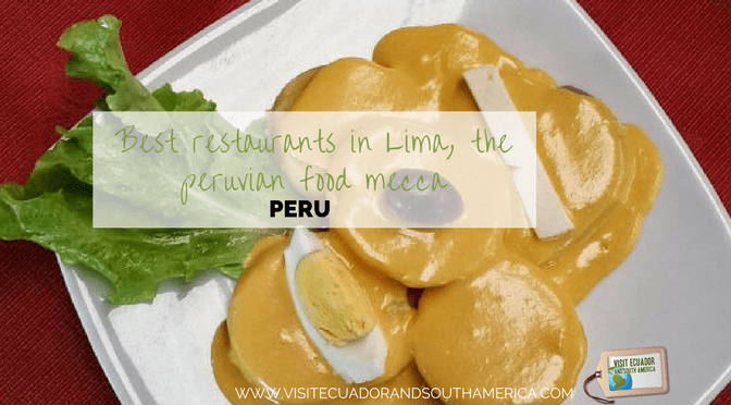 best restaurants in lima