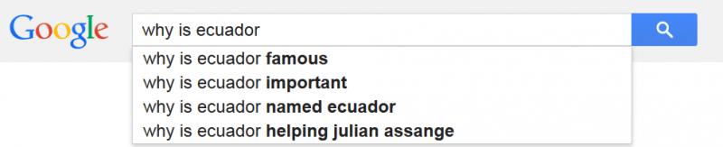 why is ecuador