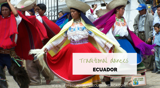 Traditional dances from Ecuador - South America