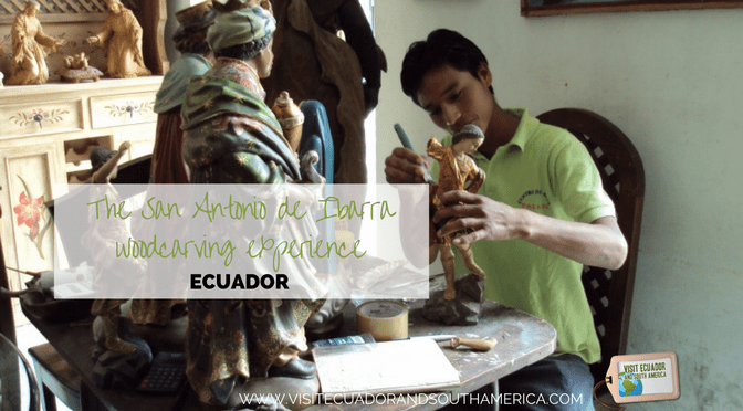 The San Antonio de Ibarra woodcarving experience